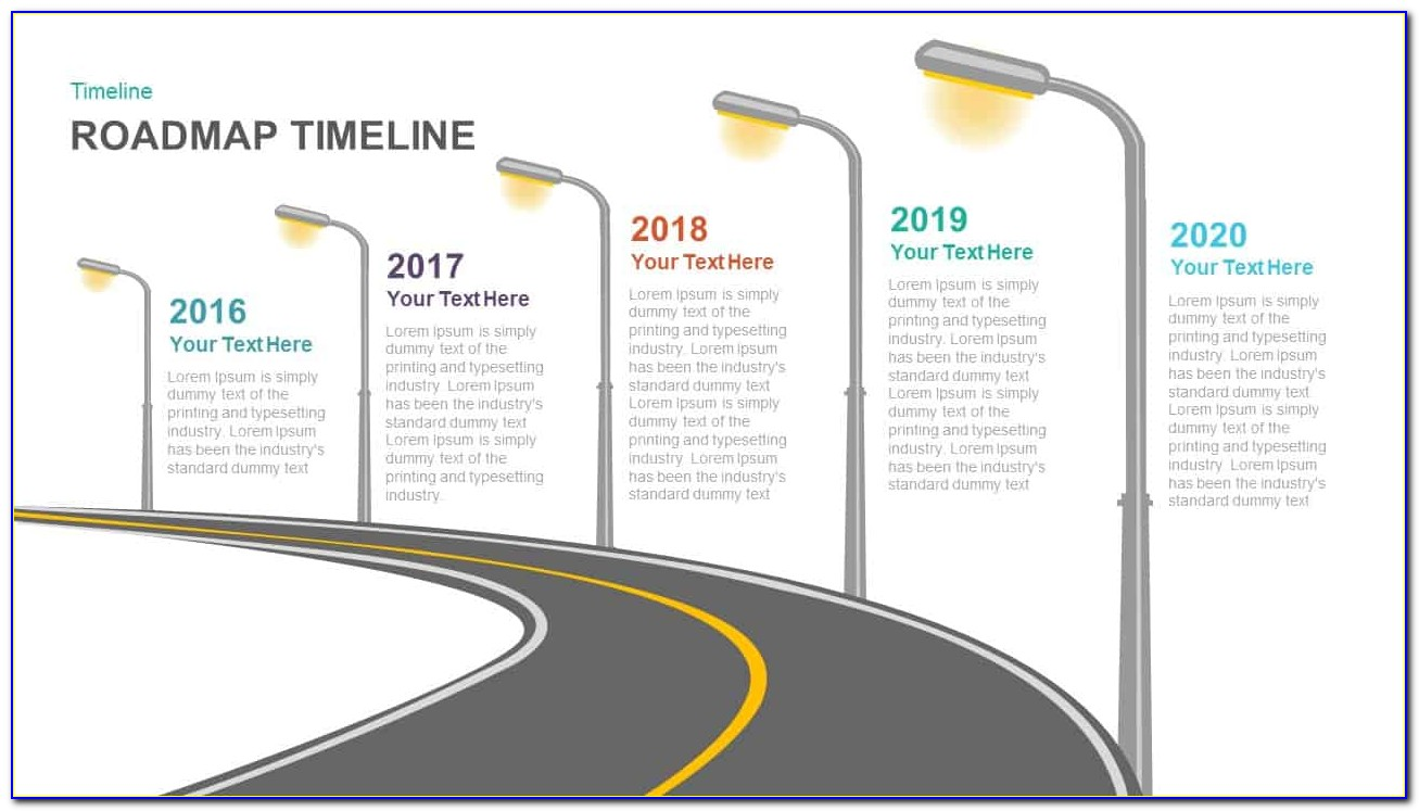 Powerpoint Roadmap Template Microsoft