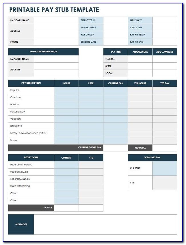 Quickbooks Payroll Summary Report Sample