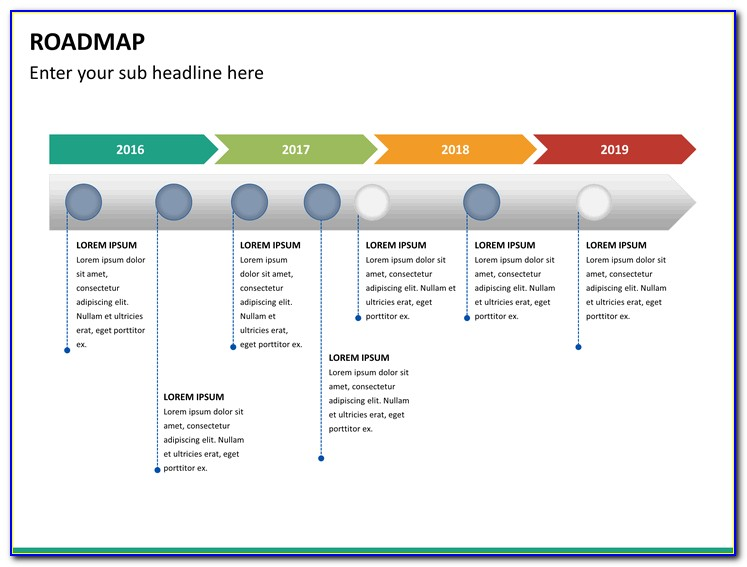 Road Map Ppt Powerpoint Templates