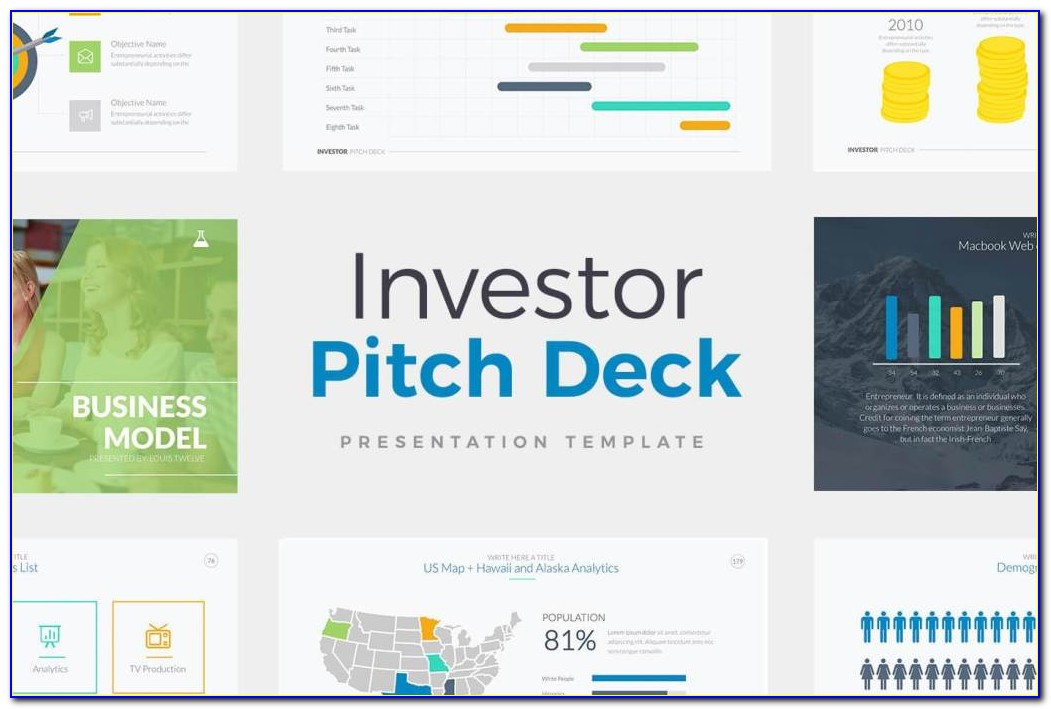 Startup Pitch Deck Powerpoint Template Free Download
