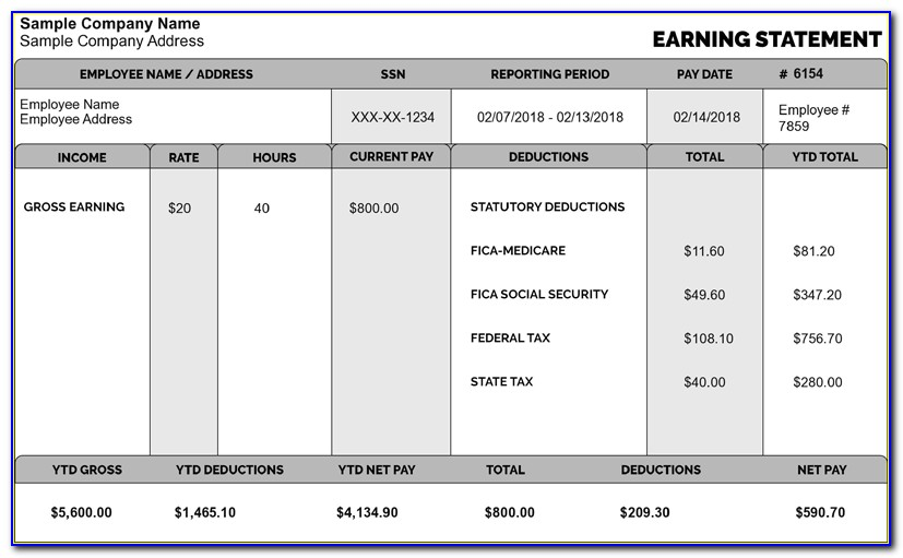 Wage Calculator Excel Template