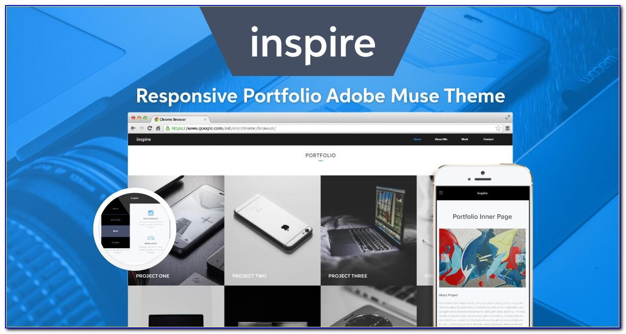 Adobe Muse Themes Responsive Free