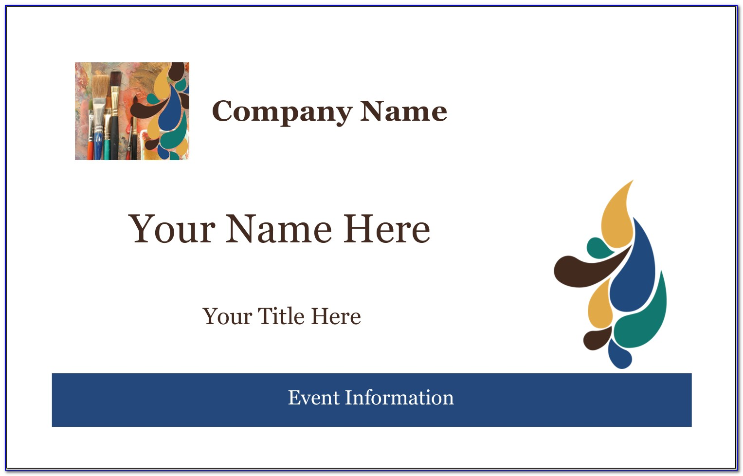 Avery Name Tag Template 5392