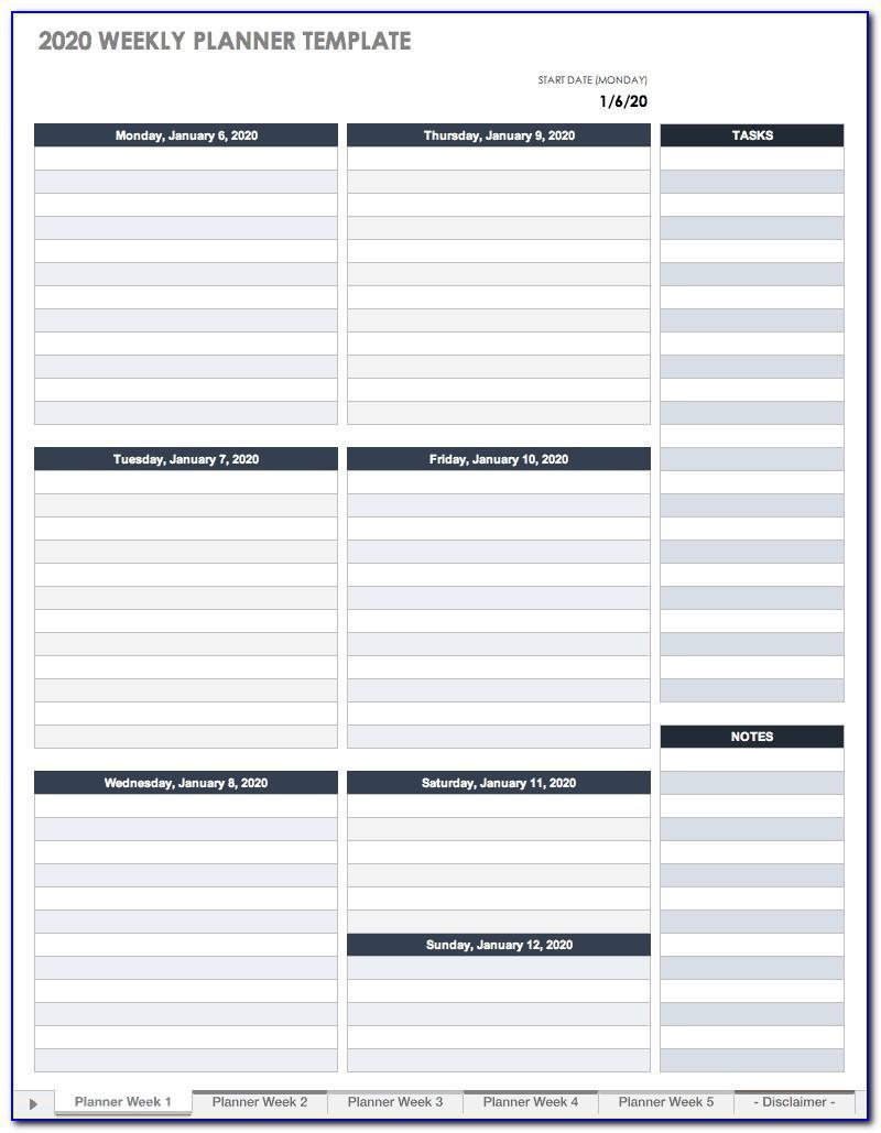 Bi Weekly Work Schedule Template Excel