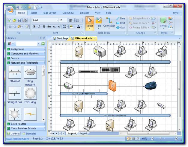 Cisco Network Topology Visio Stencils