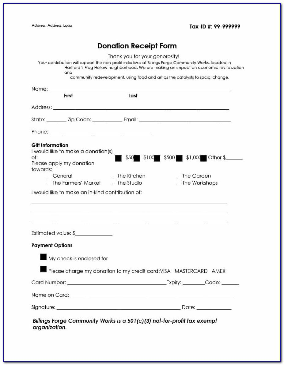 Donation Letter Template For Nonprofit Organization