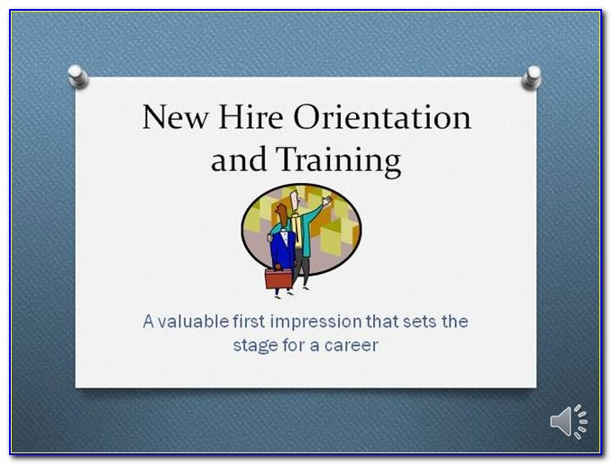 Employee Orientation Manual Template