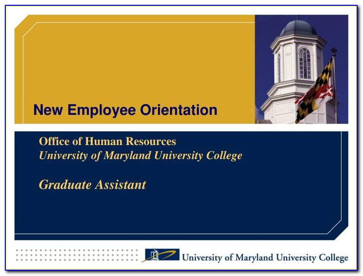 Employee Orientation Presentation Powerpoint