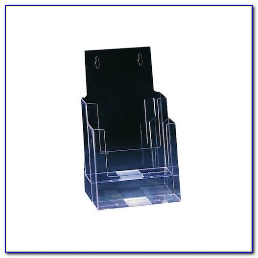 Four Tier Brochure Holder