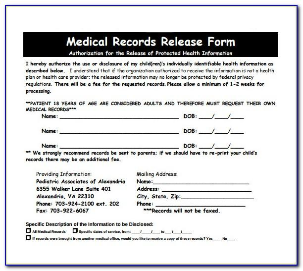 Free Medical Questionnaire Template Uk