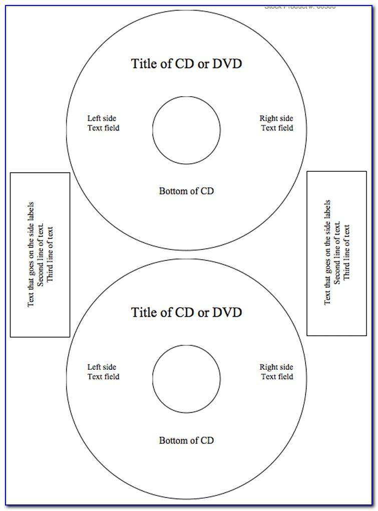 Free Memorex Cd Label Template For Word
