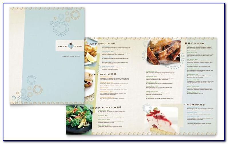 Free Menu Design Templates Photoshop