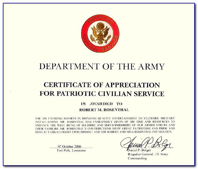 Free Military Memorial Service Program Template