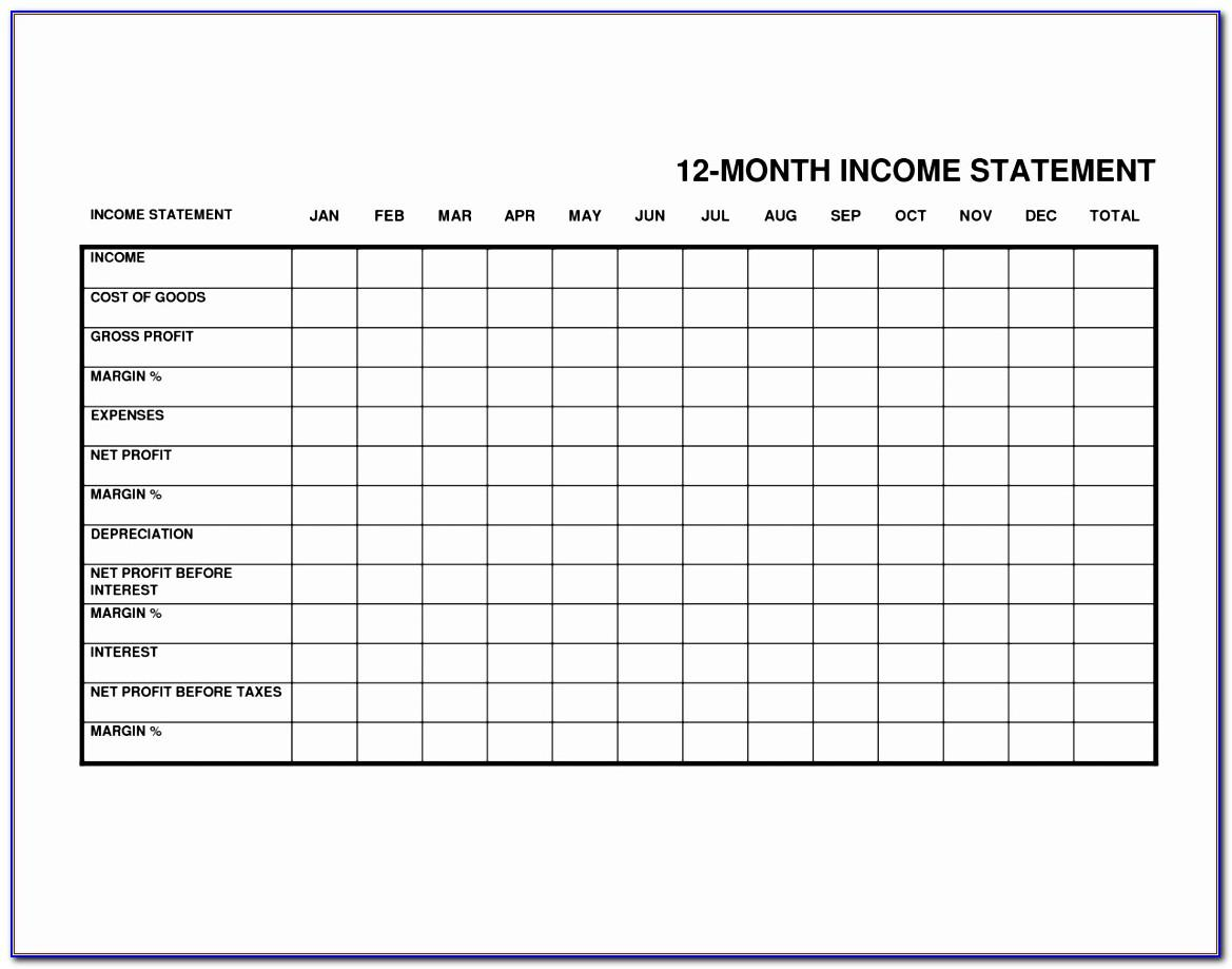 Free Monthly Bill Budget Template