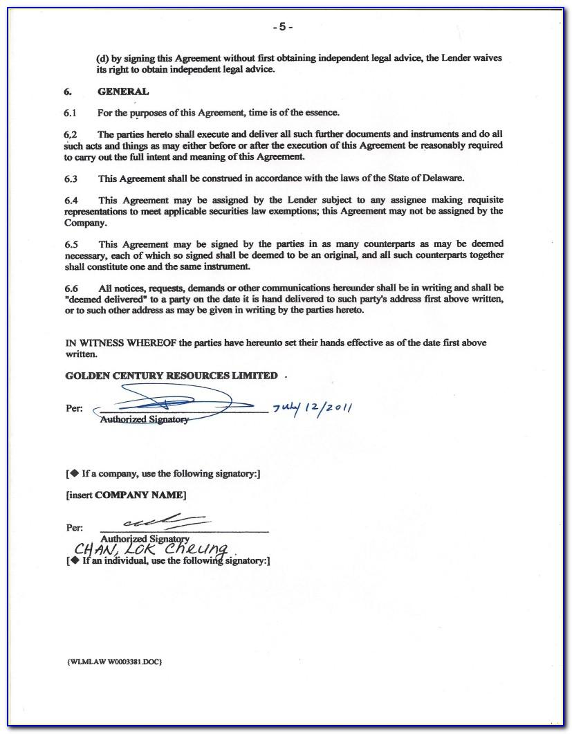Free Mortgage Loan Agreement Template