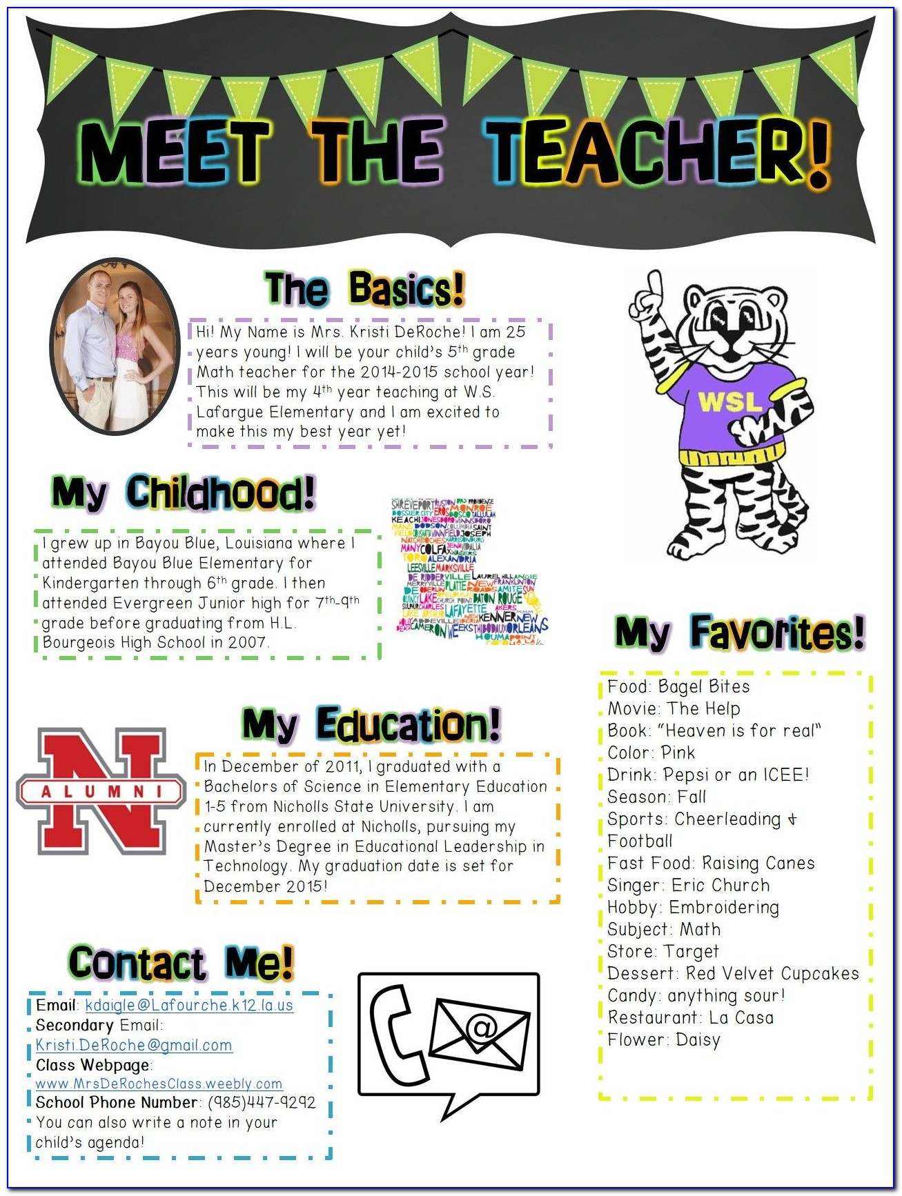 Free Parent Newsletter Templates For Teachers