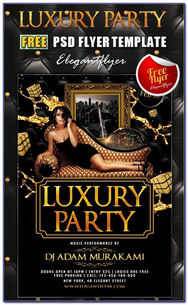 Free Photoshop Nightclub Flyer Templates