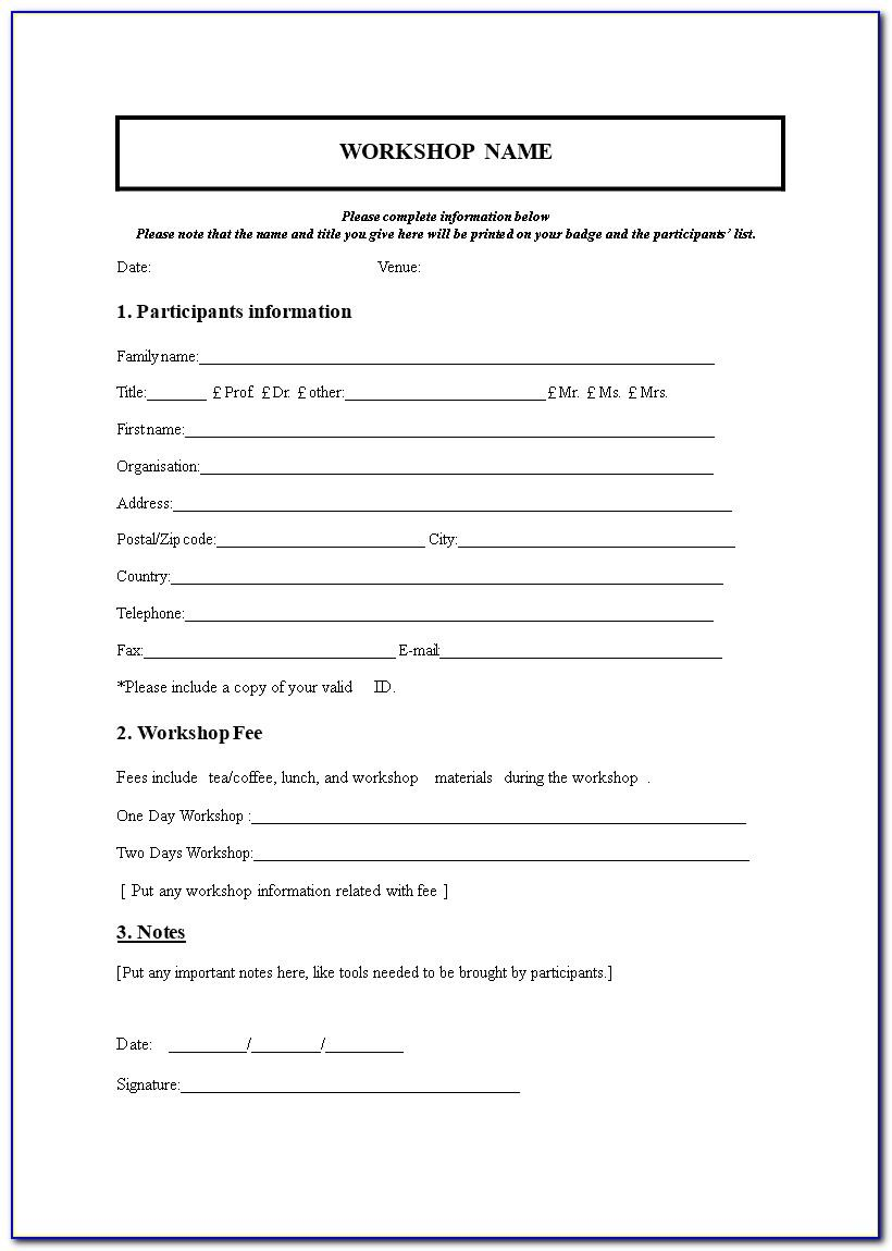 Medical Insurance Waiver Form Template