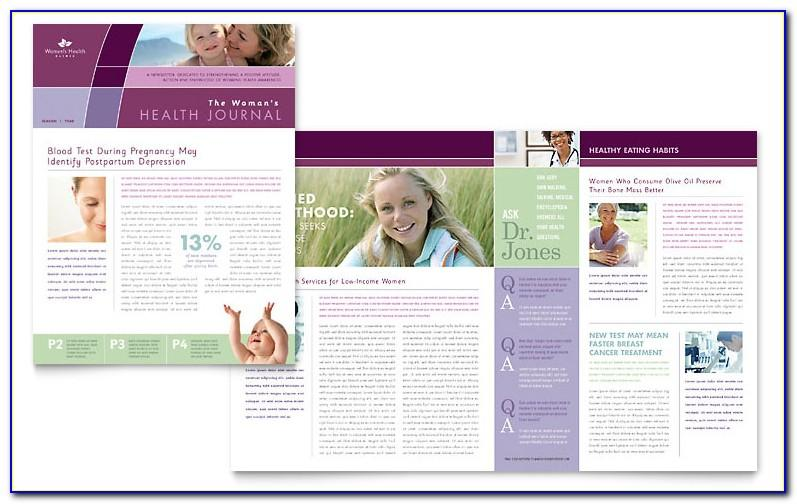 Medical Newsletter Templates Microsoft Word