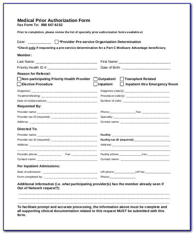Medical Power Of Attorney Texas Form