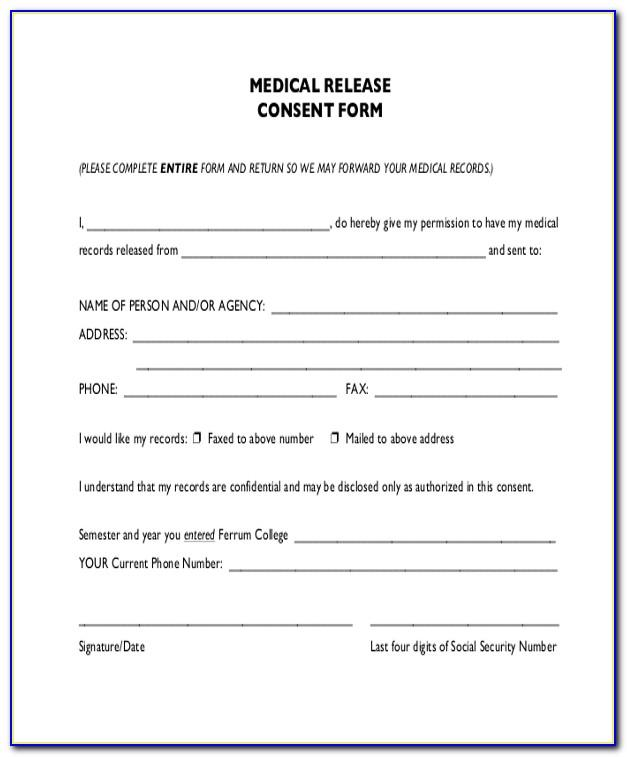 Medical Questionnaire Template For Employees