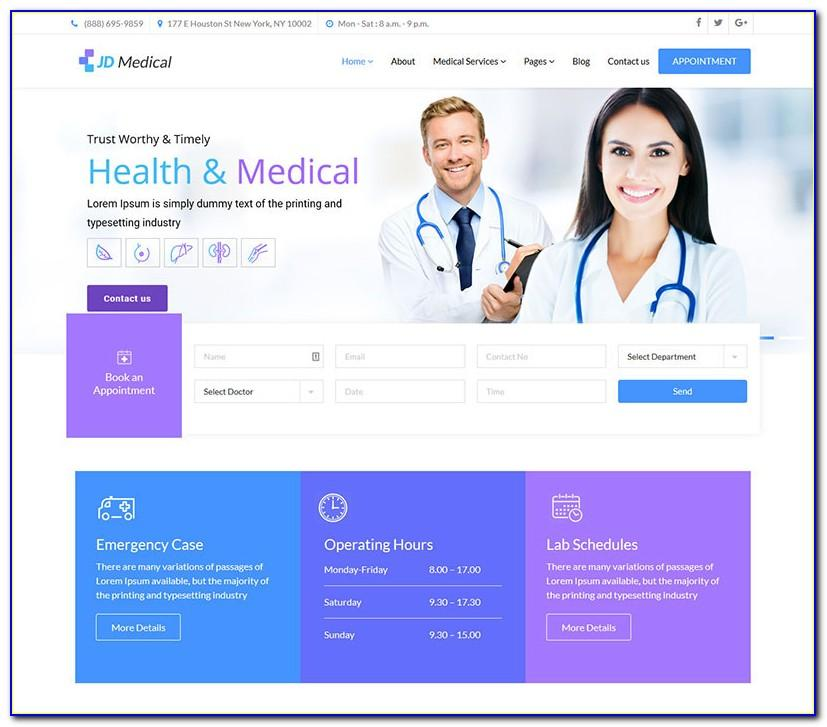 Medical Template Joomla 3