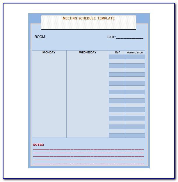 Meeting Planner Rfp Template