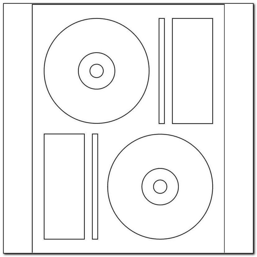 Memorex 1 Sided Cd Dvd Label Template