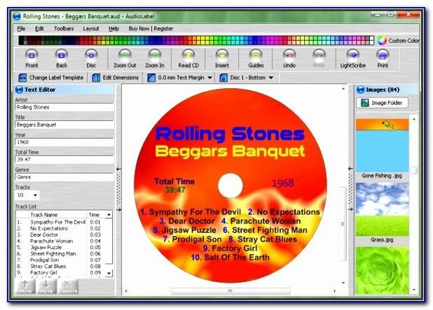 Memorex Cd Label Template Software