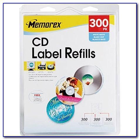 Memorex Dvd Cover Label Template