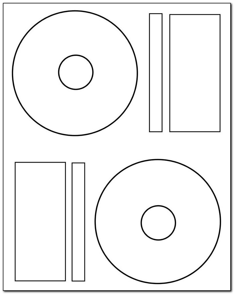 Memorex Dvd Label Refills Template