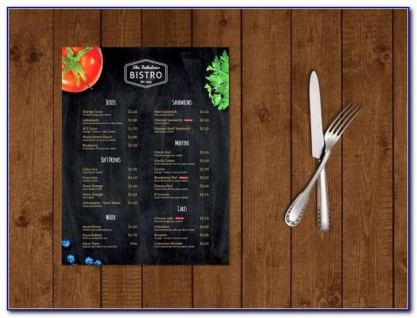 Menu Design Templates Free Download Psd