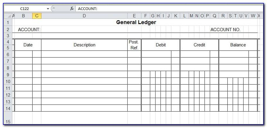 Microsoft Excel Budget Planner Template