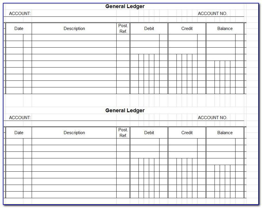 Microsoft Excel Business Accounting Templates