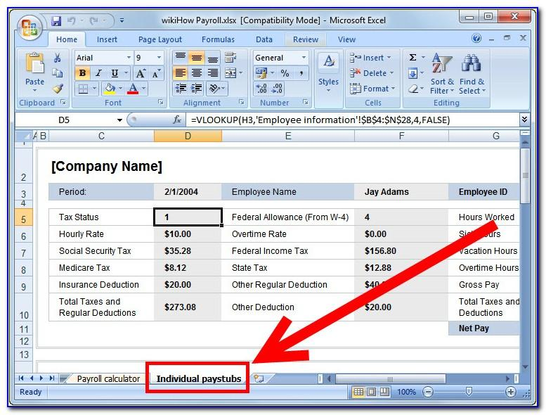 Microsoft Excel Income Statement Template