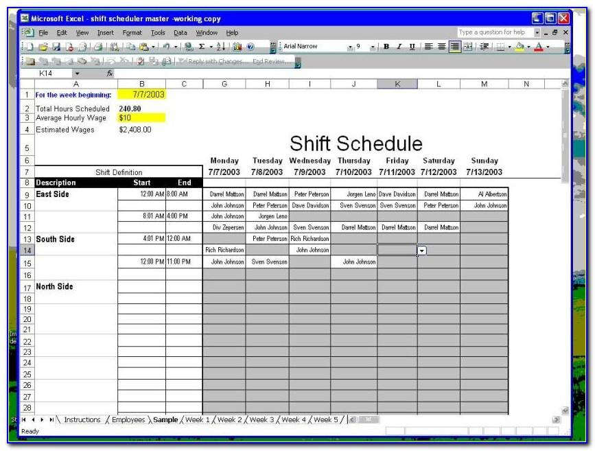 Microsoft Excel Inventory List Template