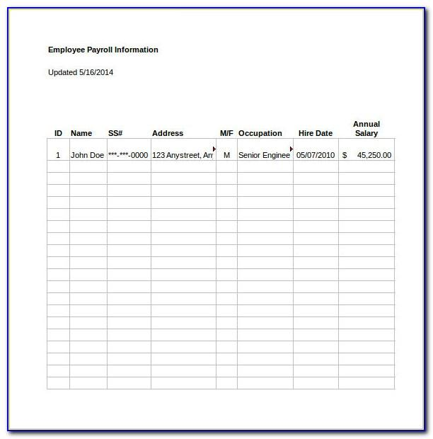Microsoft Excel Project Cost Template