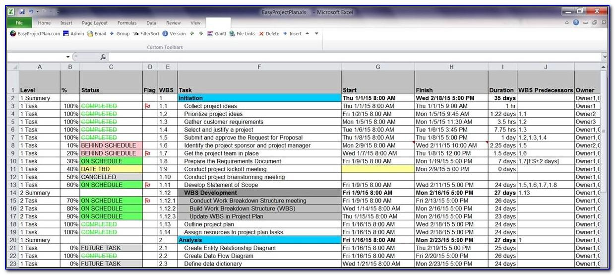 Microsoft Excel Quote Template Free