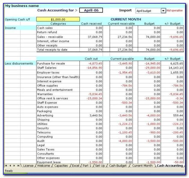 Microsoft Excel Report Templates