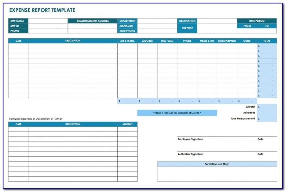 Microsoft Excel Reporting Templates