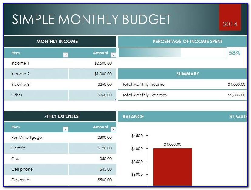 Microsoft Excel Worksheet Sample