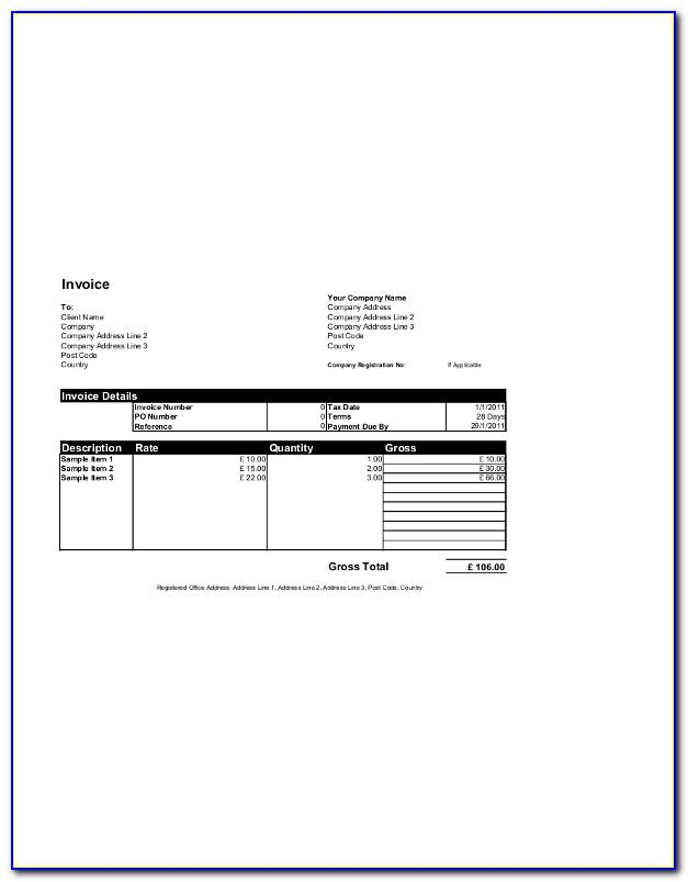 Microsoft Office Payroll Check Template