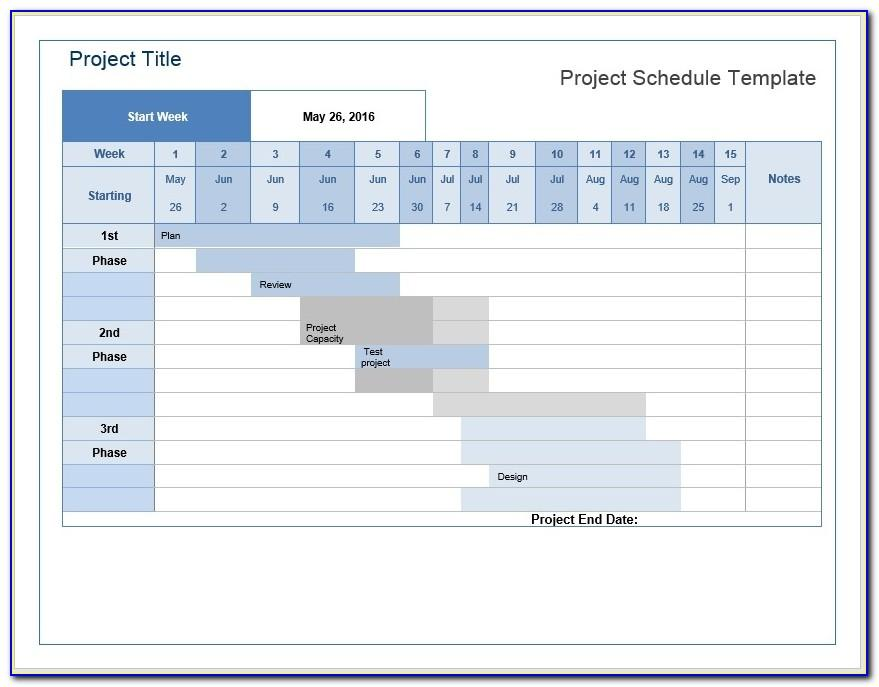 Microsoft Project Team Communication Plan Excel Template
