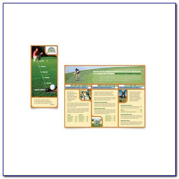 Microsoft Publisher Brochure Format