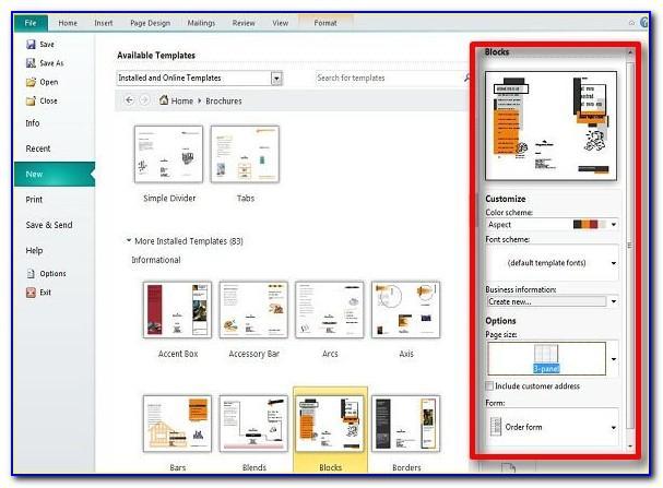 Microsoft Publisher Catalog Template Free