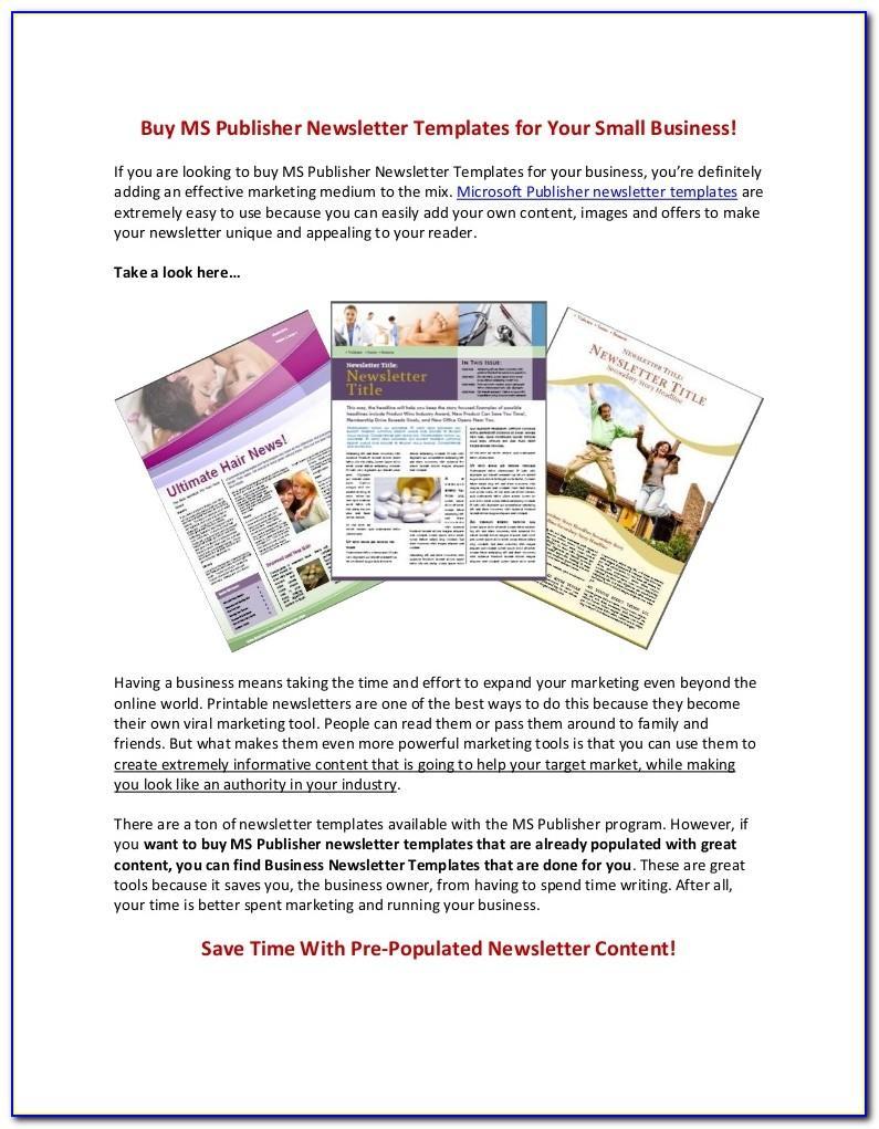Microsoft Real Estate Brochure Template