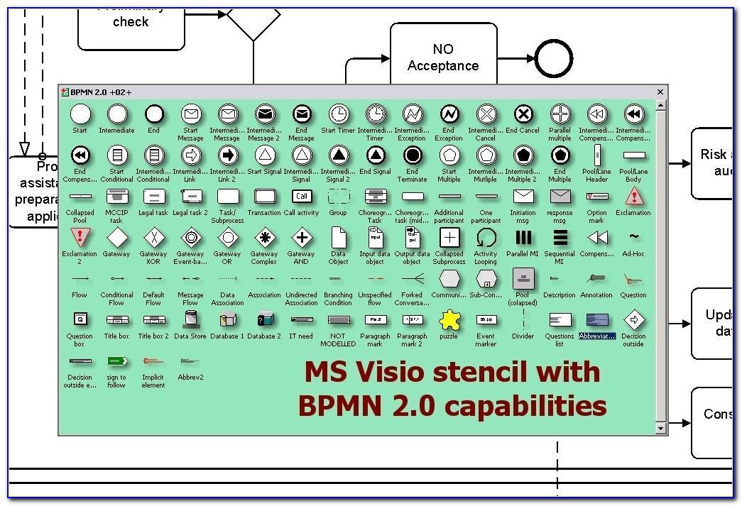 Microsoft Visio 2010 Bpmn Stencil Download