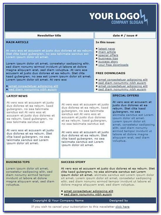 Microsoft Word 2007 Free Brochure Templates