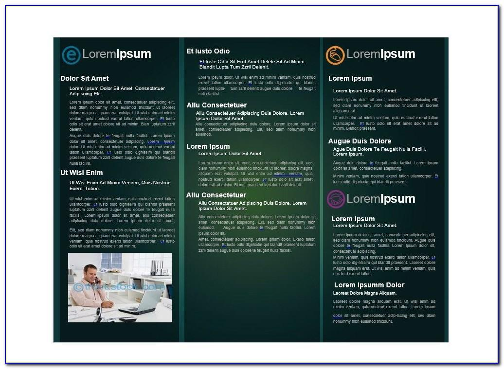 Microsoft Word Booklet Template 2007