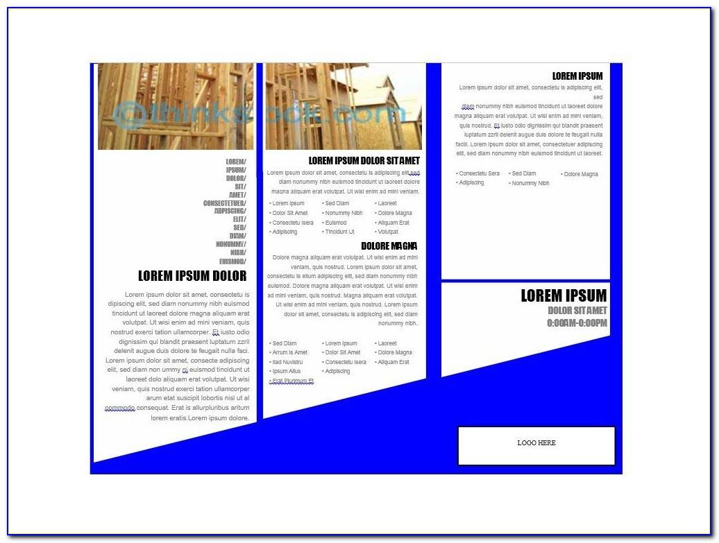Microsoft Word Booklet Template Free Download